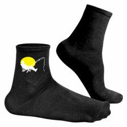 Чоловічі шкарпетки Рибак