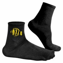 Чоловічі шкарпетки рибка