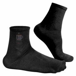 Чоловічі шкарпетки Сoffee code