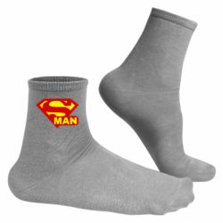 Мужские носки Super Man