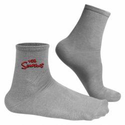 Чоловічі шкарпетки The Simpson Logo