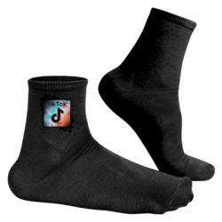 Чоловічі шкарпетки Tik Tok art