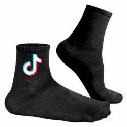 Чоловічі шкарпетки TikTok sign