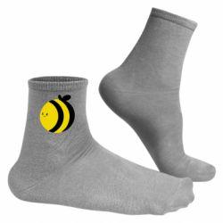 Чоловічі шкарпетки товста бджілка