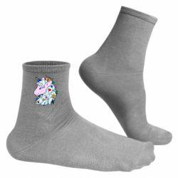 Чоловічі шкарпетки Unicorn Princess