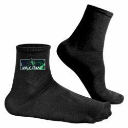 Чоловічі шкарпетки Valorant player