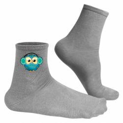 Чоловічі шкарпетки Winter owl