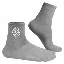 Мужские носки Жека Кто там?
