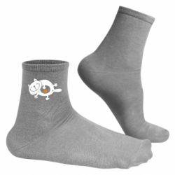 Мужские носки Жирный кот