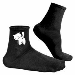 Мужские носки злой котэ