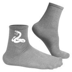Мужские носки Змея