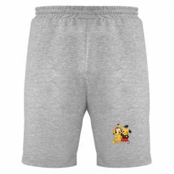 Мужские шорты Mickey and Pikachu