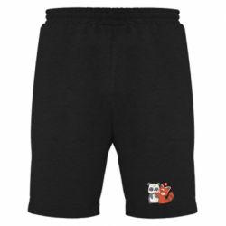 Чоловічі шорти Panda and fire panda