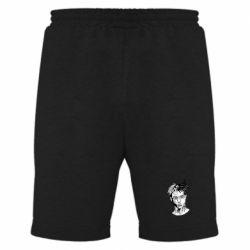 Мужские шорты XXXTentacion Monochrome Art