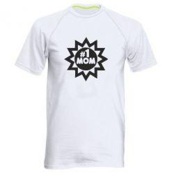 Мужская спортивная футболка # 1 MOM - FatLine