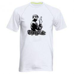 Купить Мужская спортивная футболка 2pac Thug Life, FatLine