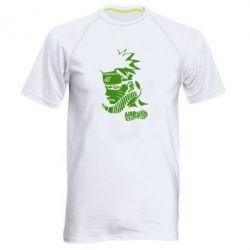 Мужская спортивная футболка 4256 - FatLine