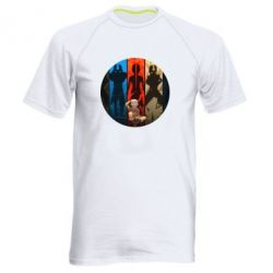 Мужская спортивная футболка Aang Art