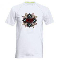 Мужская спортивная футболка AC/DC Art Logo - FatLine