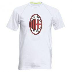 Мужская спортивная футболка AC Milan - FatLine