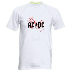 Чоловіча спортивна футболка ACDC - FatLine