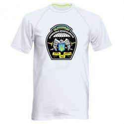 Мужская спортивная футболка Аеромобільні десантні війська - FatLine