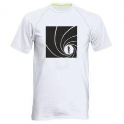 Мужская спортивная футболка Agent 007 - FatLine