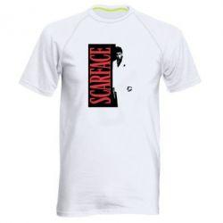 Купить Мужская спортивная футболка Al Pacino aka Tony Montana, FatLine