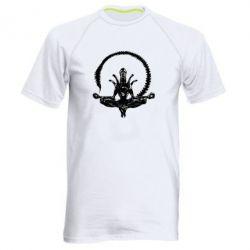 Мужская спортивная футболка Alien Yoga - FatLine