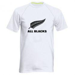 Мужская спортивная футболка All Blacks