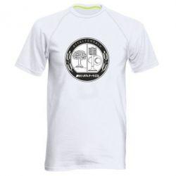 Мужская спортивная футболка AMG - FatLine