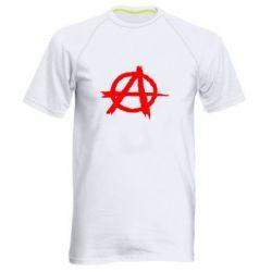 Мужская спортивная футболка Anarchy - FatLine