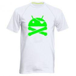 Мужская спортивная футболка Android Pirate