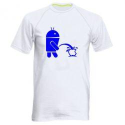 Мужская спортивная футболка Android унижает Apple