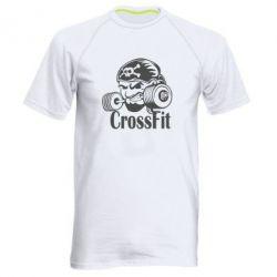 Мужская спортивная футболка Angry CrossFit - FatLine