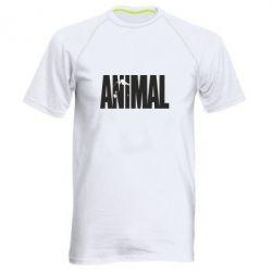 Мужская спортивная футболка Animal Logo - FatLine