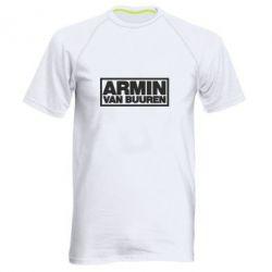Мужская спортивная футболка Armin - FatLine