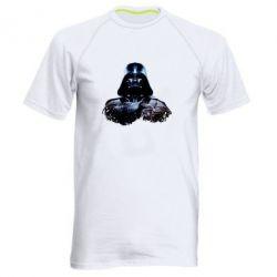 Мужская спортивная футболка Арт Дарт Вейдер - FatLine