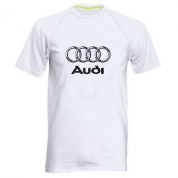 Мужская спортивная футболка Audi Big - FatLine