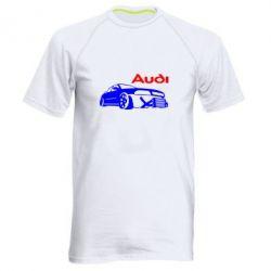 Мужская спортивная футболка Audi Turbo - FatLine