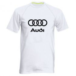 Мужская спортивная футболка Audi - FatLine