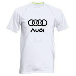 Мужская спортивная футболка Audi