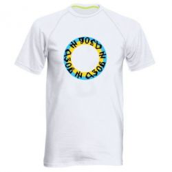Мужская спортивная футболка Азов Круг