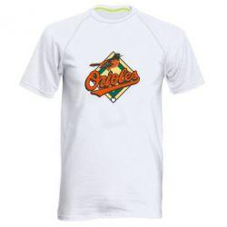 Мужская спортивная футболка Baltimore Orioles - FatLine