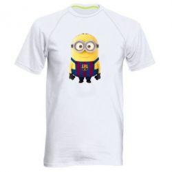 Мужская спортивная футболка Barca - FatLine