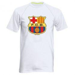 Мужская спортивная футболка Barcelona - FatLine