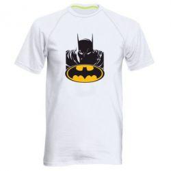 Мужская спортивная футболка Batman face - FatLine