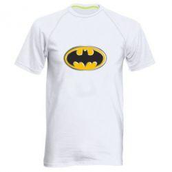 Мужская спортивная футболка Batman Gold Logo - FatLine