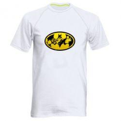 Мужская спортивная футболка Batman Graffiti - FatLine