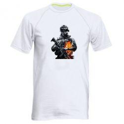 Мужская спортивная футболка Battlefield Warrior - FatLine